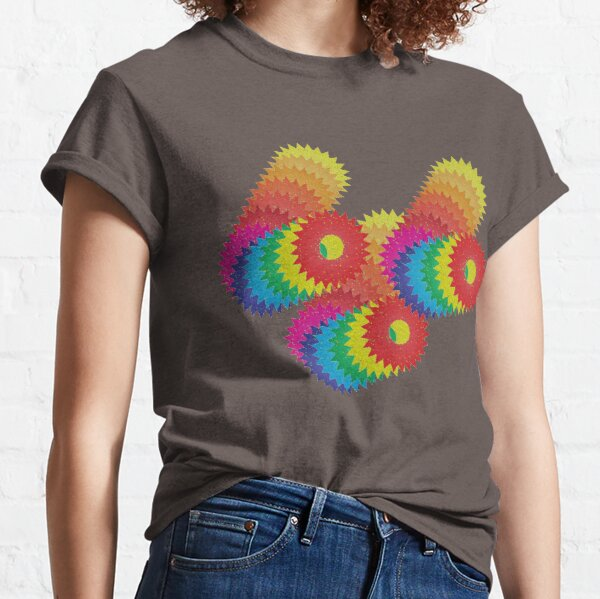 Color attack  Classic T-Shirt