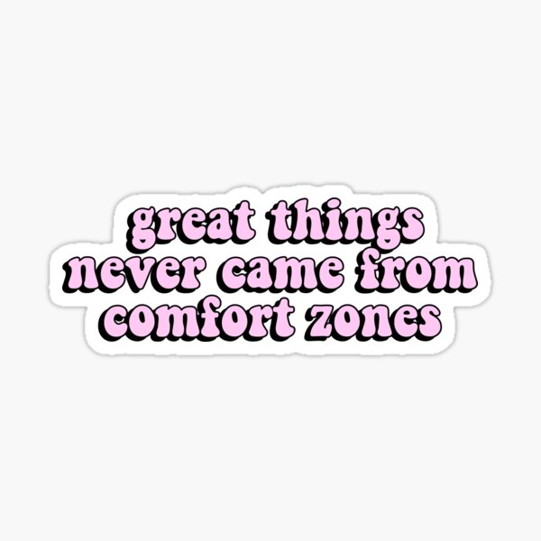 Aesthetic Neon Pink Inspirational Quote Sticker By Star10008 Redbubble