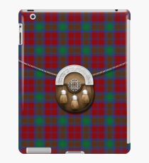 Clan Lindsay Tartan And Sporran iPad Case/Skin
