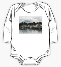 Boats On A Cloudy Day Essex CT One Piece - Long Sleeve