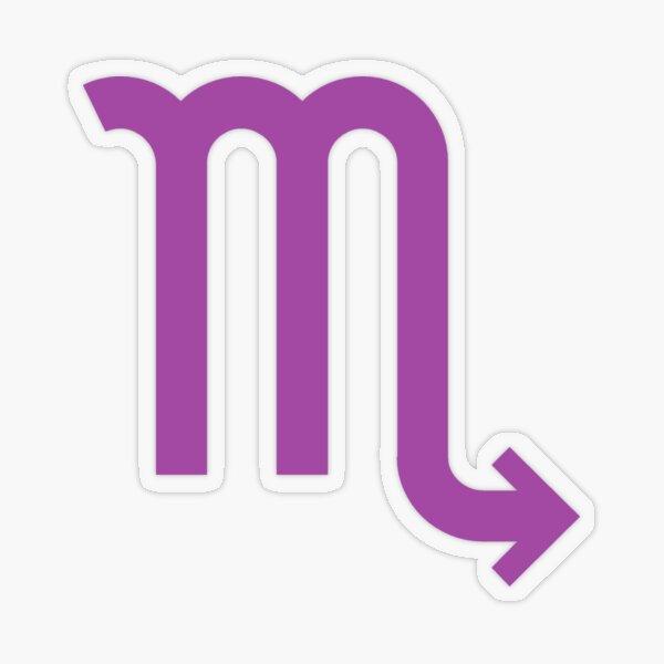 ♏ Scorpio, Zodiac Sign Transparent Sticker