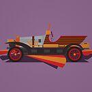 Chitty Chitty Bang Bang - Purple by David Wildish