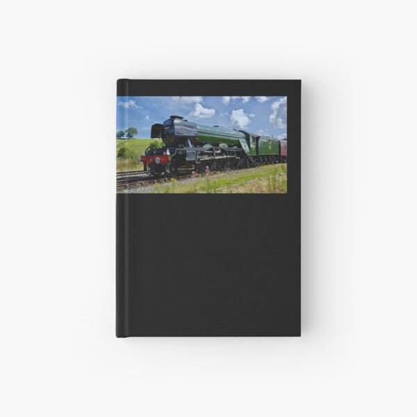 """The famous """"Flying Scotsman"""" engine. Hardcover Journal"""