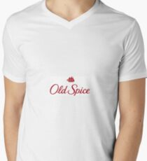 Old Spice V-Neck T-Shirt