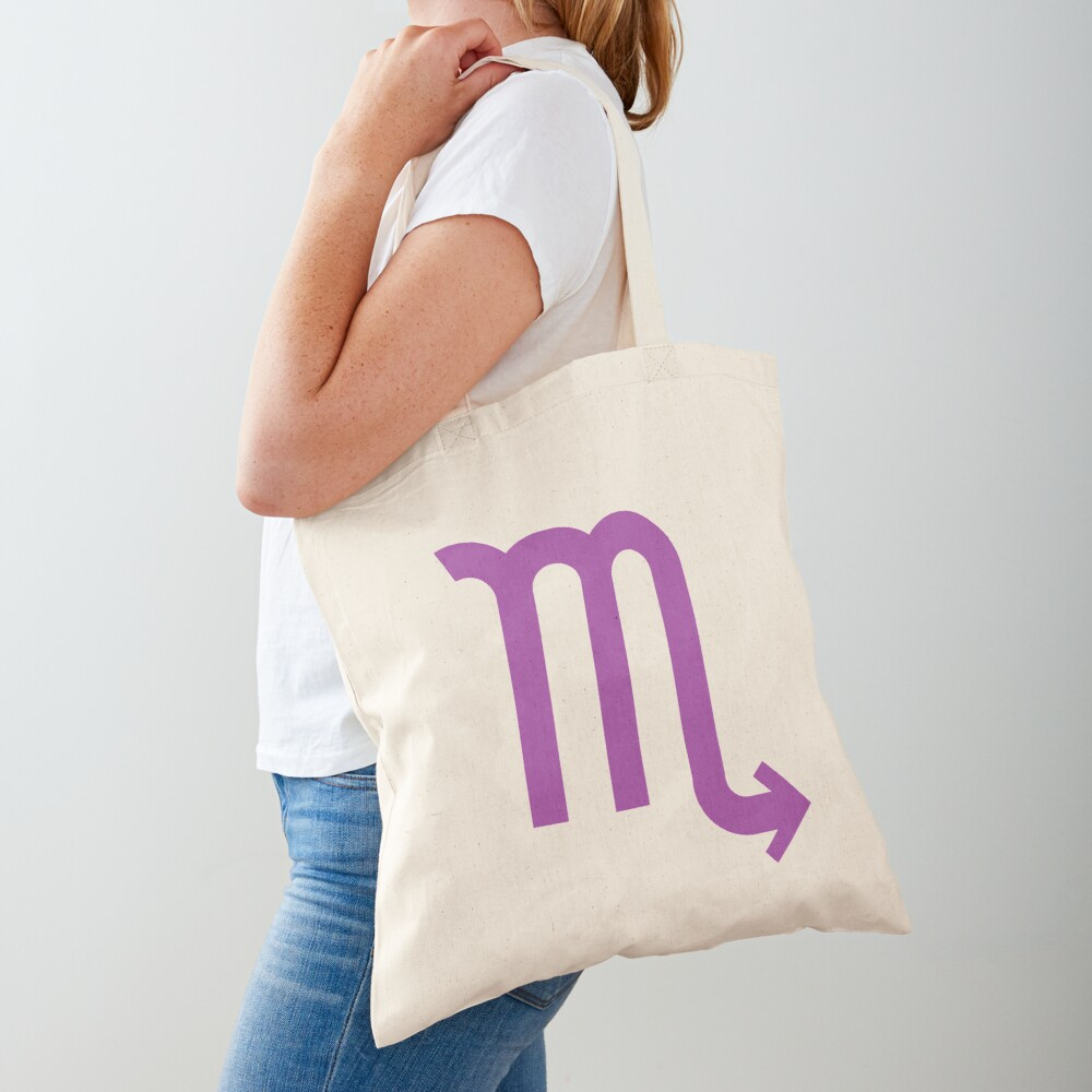 ♏ Scorpio, Zodiac Sign Tote Bag