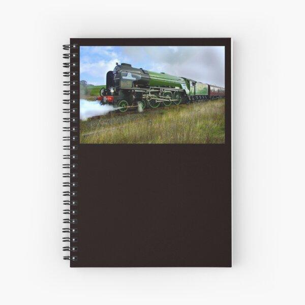 "The ""Tornado"" engine. Spiral Notebook"