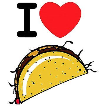I Love Taco by YaphiClimb