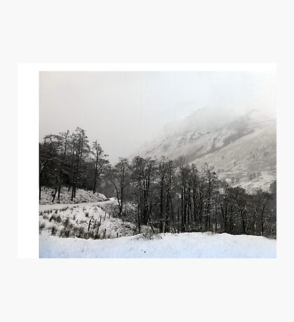 Descending Cloud at Glencoe Photographic Print