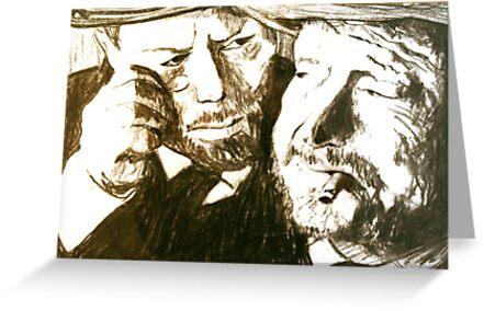 Vincent and Douglas by JolanteHesse