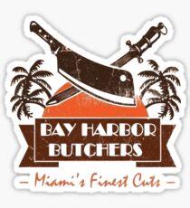 dEXTER- bAY hARBOuR BUTCHER Sticker