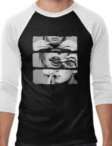 Girls love blunts Men's Baseball ¾ T-Shirt