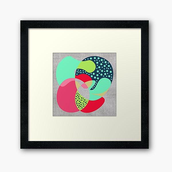 NaiveIII Framed Art Print