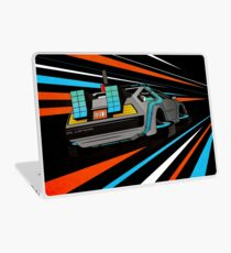 Delorean Time Flux - Orange Laptop Skin