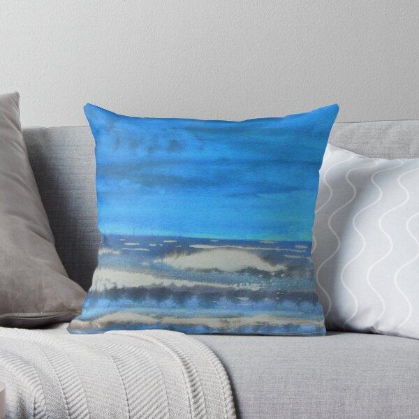 Peau de Mer • Sea's Skin • Piel de Mar Throw Pillow