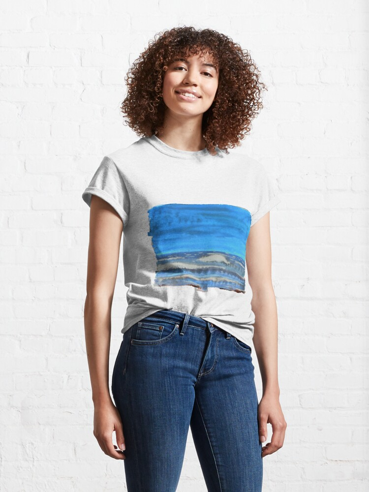Alternate view of Peau de Mer • Sea's Skin • Piel de Mar Classic T-Shirt