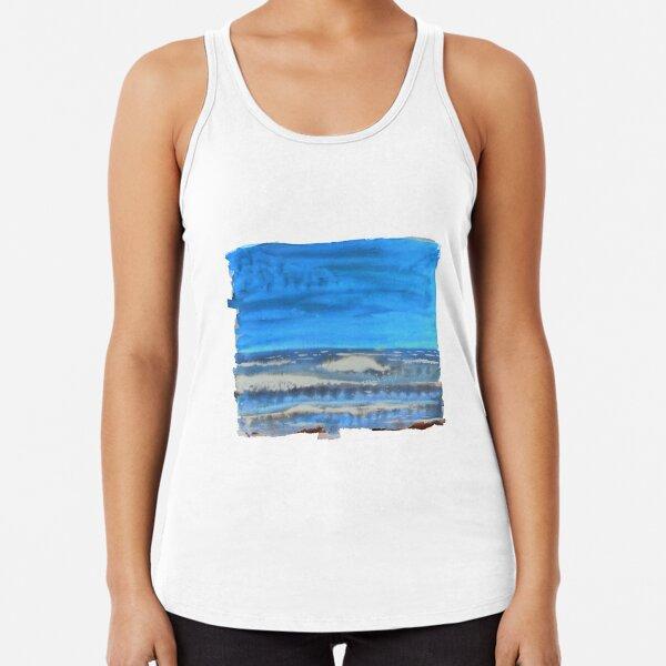 Peau de Mer • Sea's Skin • Piel de Mar Racerback Tank Top
