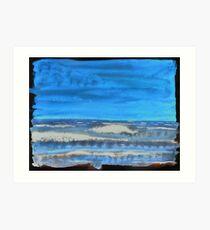 Peau de Mer • Sea's Skin • Piel de Mar Art Print