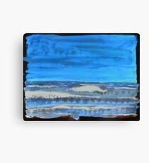 Peau de Mer • Sea's Skin • Piel de Mar Canvas Print