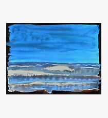 Peau de Mer • Sea's Skin • Piel de Mar Photographic Print