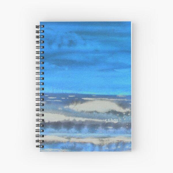Peau de Mer • Sea's Skin • Piel de Mar Spiral Notebook
