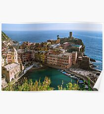 Beautiful Vernazza, Italy Poster