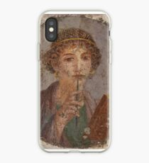 Souvenir from Pompeii - Saffo is thinking iPhone Case