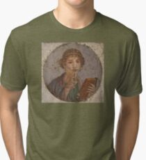 Souvenir from Pompeii - Saffo is thinking Tri-blend T-Shirt