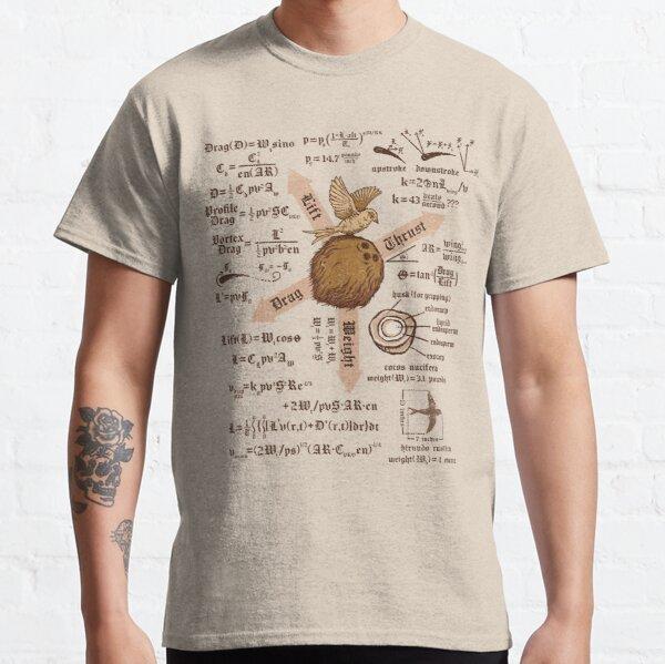 Une simple question de rapport de poids T-shirt classique