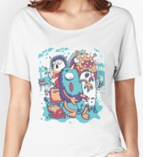 crazy and funny Women's Relaxed Fit T-Shirt