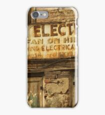 India Electric Co. iPhone Case/Skin