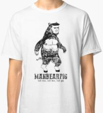 MANBEARPIG South Park Mythical Beast Funny Vintage Classic T-Shirt