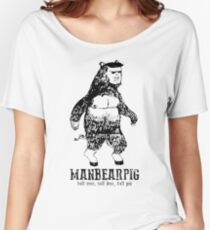 MANBEARPIG South Park Mythical Beast Funny Vintage Women's Relaxed Fit T-Shirt