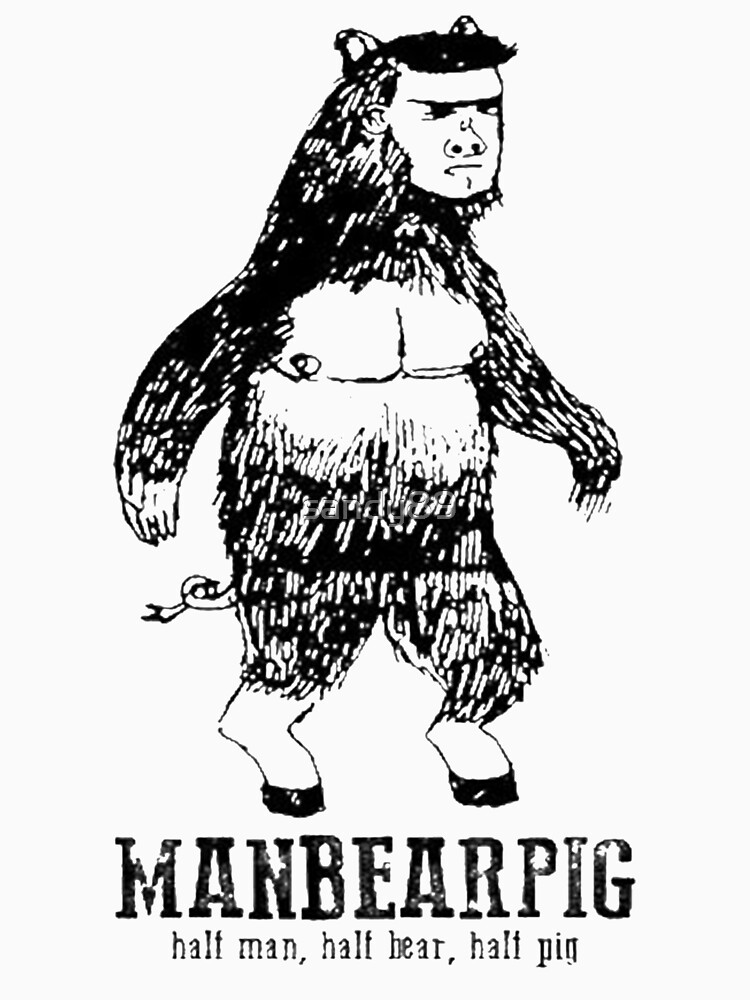 TShirtGifter presents: MANBEARPIG South Park Mythical Beast Funny Vintage | Unisex T-Shirt