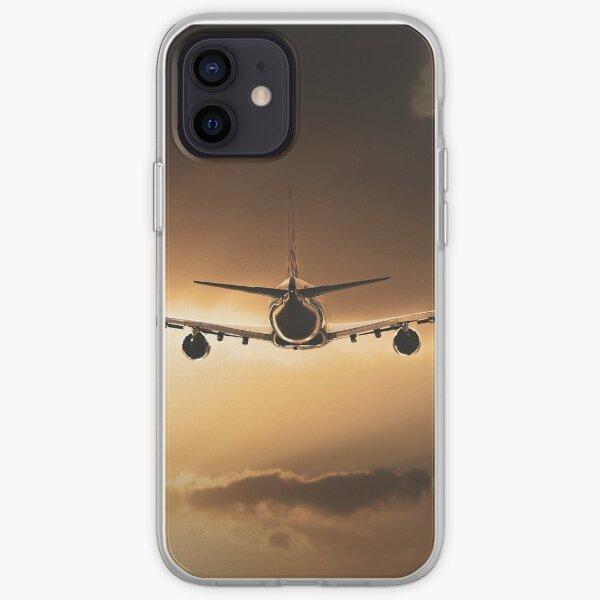 Cargolux Boeing 747 Sunset iPhone Soft Case