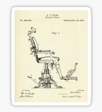 Dentist´s Chair-1879 Sticker
