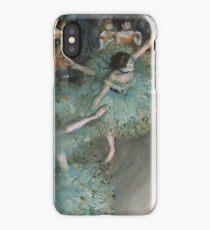 Edgar Degas - Swaying Dancer. Degas- Dancer in Green ,  show, ballet, dancers, ballerina, ballet dancer, dance, impressionism, music, opera, tutu , dress, beauty, love, girls, party iPhone Case/Skin