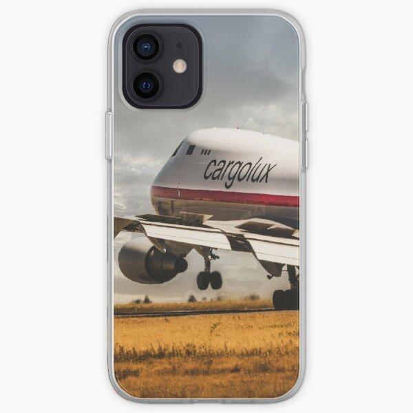 Cargolux Boeing 747 Retro livery iPhone Soft Case