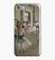 Edgar Degas - The Ballet Class ,Impressionism  ballerina dancer iPhone Case/Skin