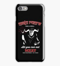 Mola Ram's Bar & Grill iPhone Case/Skin