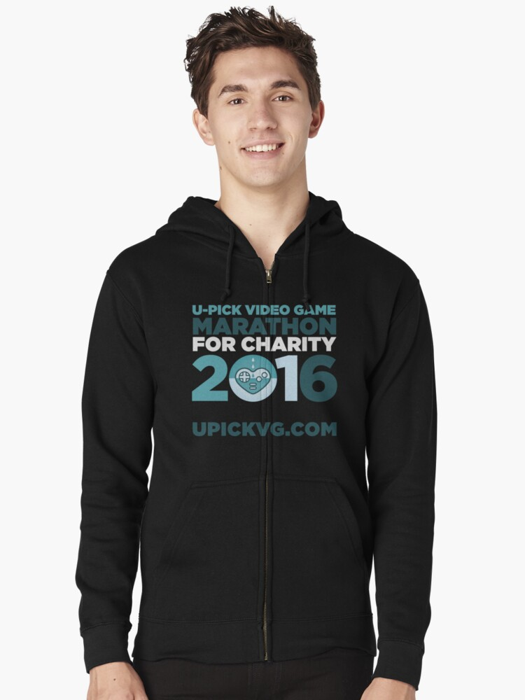 UPickVG 2016 Zipped Hoodie Front