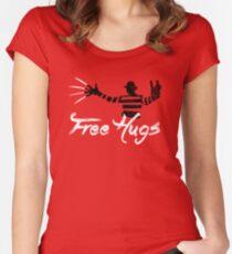 Free Hugs Freddy Women's Fitted Scoop T-Shirt