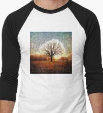 Winter Tree Men's Baseball ¾ T-Shirt