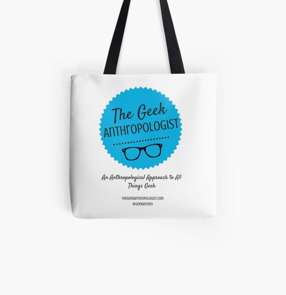 The Geek Anthropologist Logo and Infos All Over Print Tote Bag