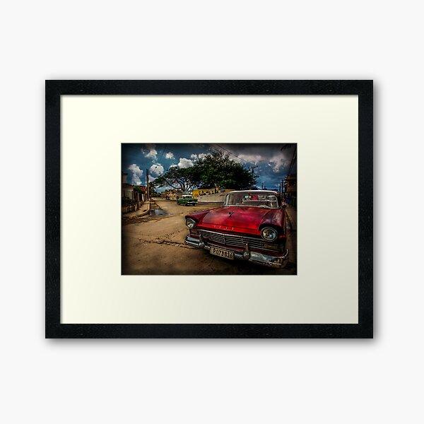 Good old Cuba.... Framed Art Print