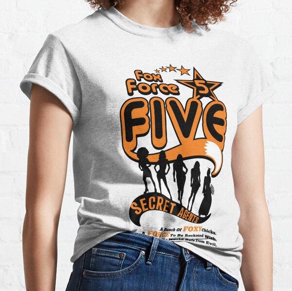 Pulp Fiction - Fox Force Five Classic T-Shirt