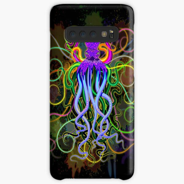 Octopus Psychedelic Luminescence Samsung Galaxy Snap Case