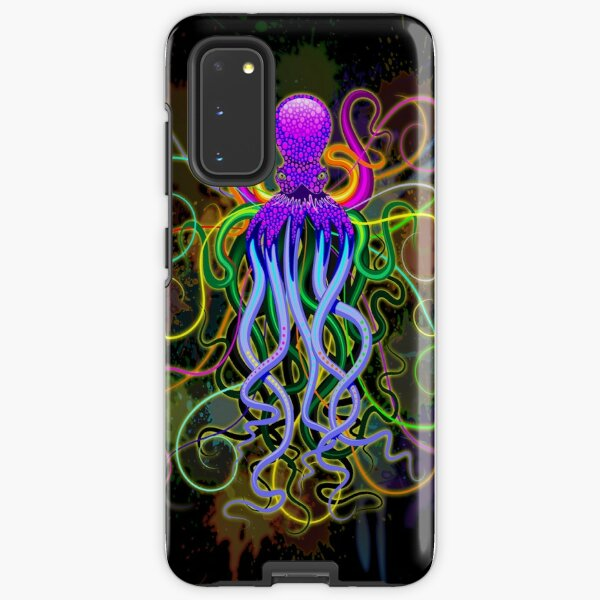 Octopus Psychedelic Luminescence Samsung Galaxy Tough Case