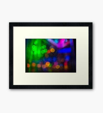 Magical Bokeh  Framed Print