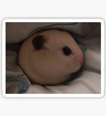 egg hamster Sticker