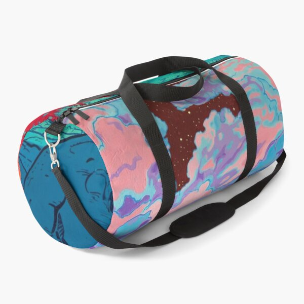 Pink Clouds  Duffle Bag